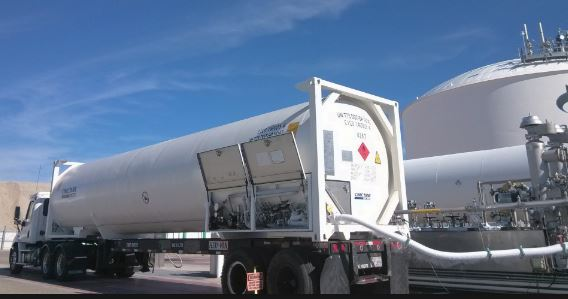 LNG ISO Tank containers